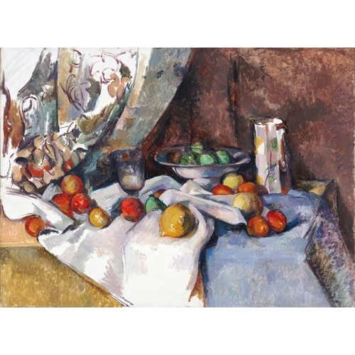 """Still Life with Apples, 1895-1898"""