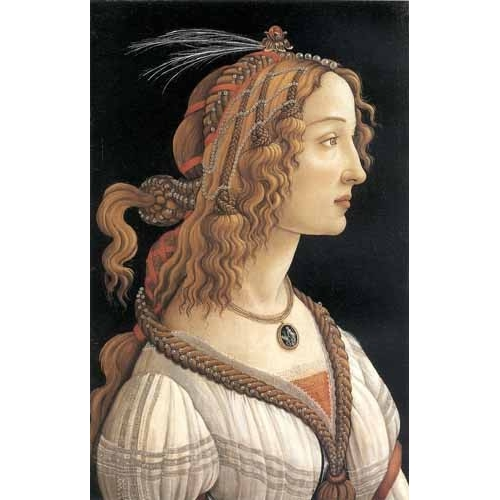 Comprar portrait and figure - Retrato femenino online - Botticelli, Alessandro