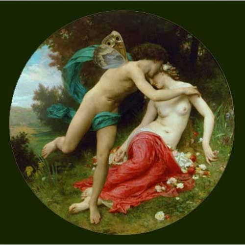 Comprar cuadros de desnudos - Cuadro Flora and Zephir online - Bouguereau, William