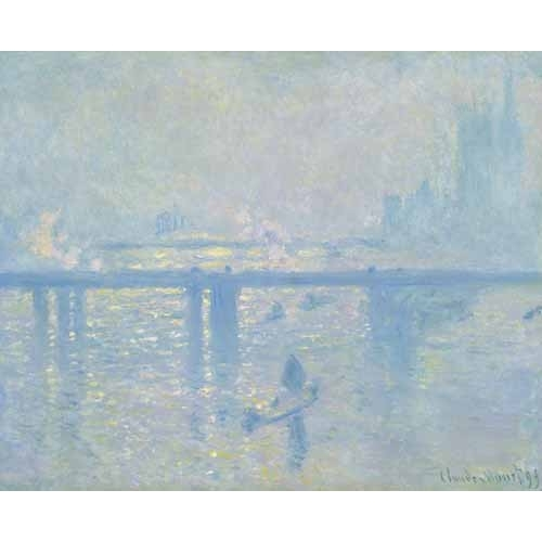 Comprar cuadros de marinas - Cuadro Charing Cross Bridge, 1899 online - Monet, Claude