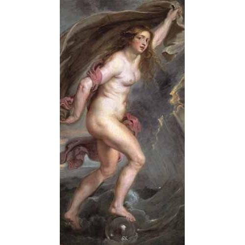 Comprar nude paintings - La Fortuna online - Rubens, Peter Paulus