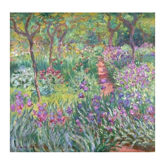 """The Iris Garden at Giverny"""