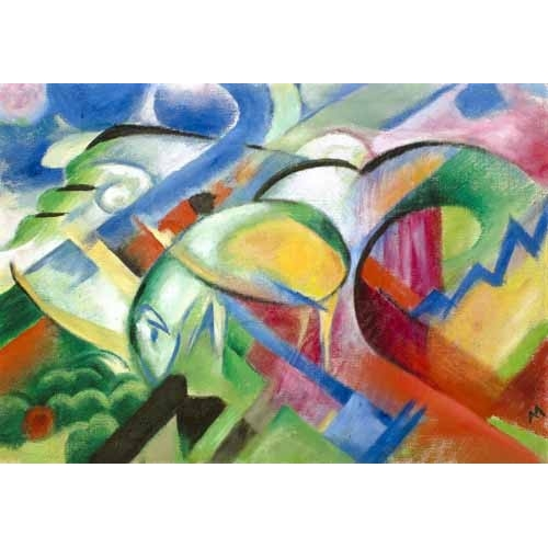 Comprar abstracts paintings - The Sheep online - Marc, Franz