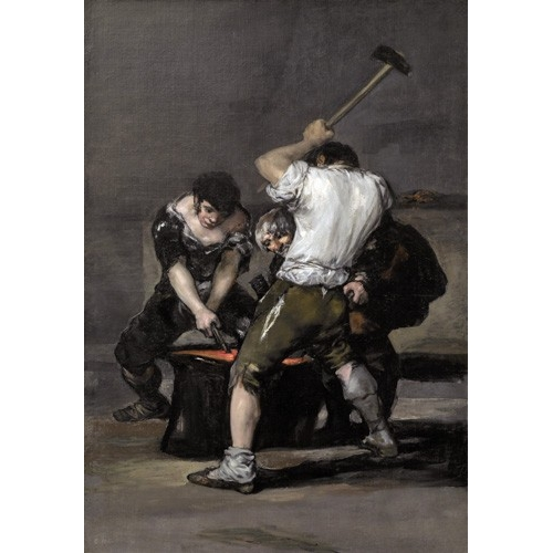 Comprar portrait and figure - La_fragua, 1815-1820 online - Goya y Lucientes, Francisco de