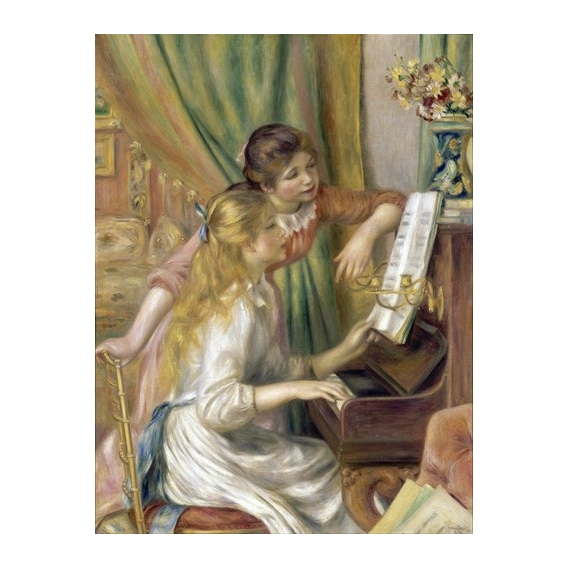 """Young Girls at the Piano, 1892"""