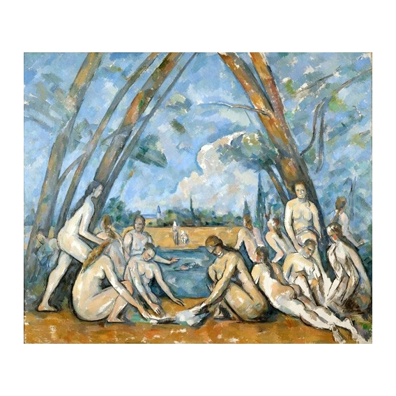 """The Large Bathers, 1906"""