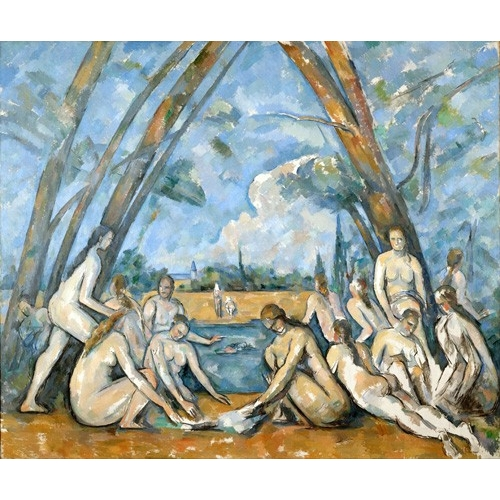 Comprar  - Cuadro The Large Bathers, 1906 online - Cezanne, Paul