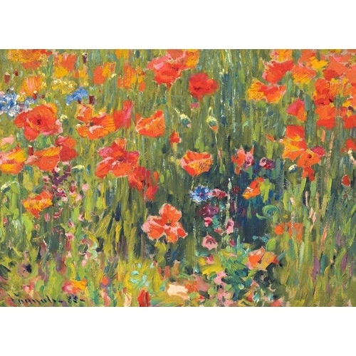 Comprar landscapes - Amapolas, 1888 online - Vonnoh, Robert William