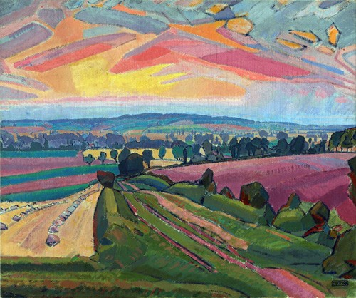 landscapes - The Icknield Way - Gore, Spencer