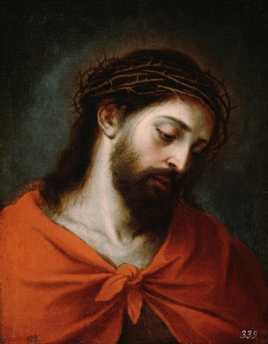 religious paintings - Ecce Homo - Murillo, Bartolome Esteban