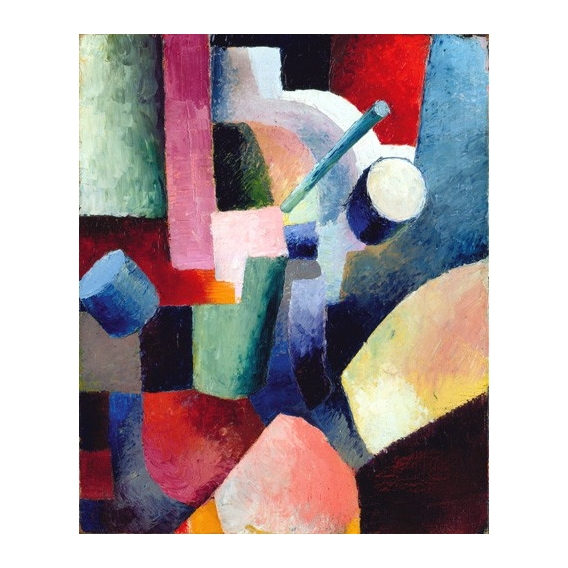 """""""Abstracto _ Colored Composition of Forms, 1914"""""""