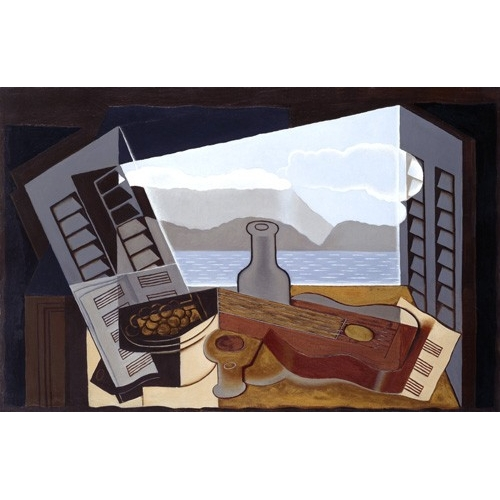 Comprar abstracts paintings - The Open Window, 1921 online - Gris, Juan