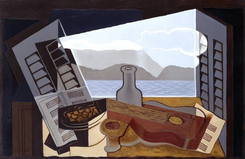 Still life paintings - The Open Window, 1921 - Gris, Juan