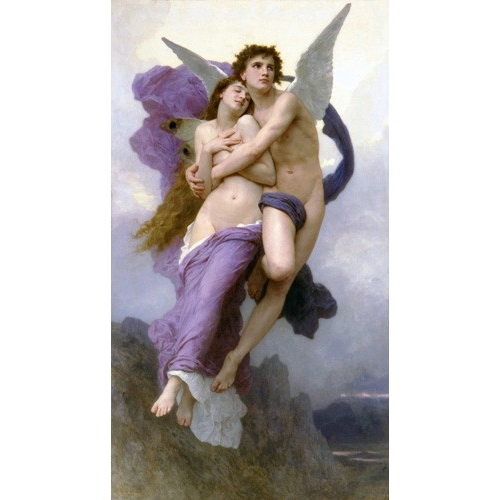 Comprar  - Cuadro El rapto de Psique online - Bouguereau, William