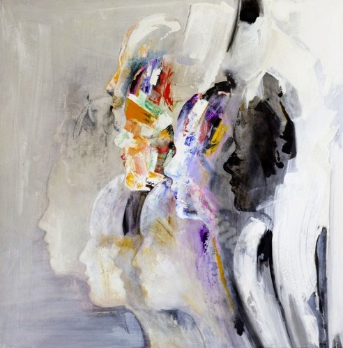 abstracts paintings - Abstracto RM_022 - Martinez, Rafael