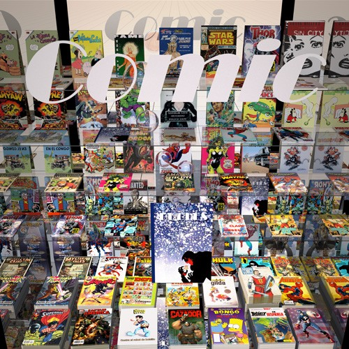 contemporary paintings - La tienda del comic - Aguirre Vila-Coro, Juan