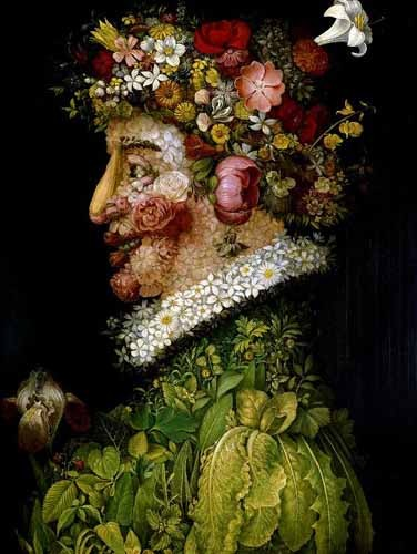 Comprar decorative paintings - La primavera online - Arcimboldo, Giuseppe