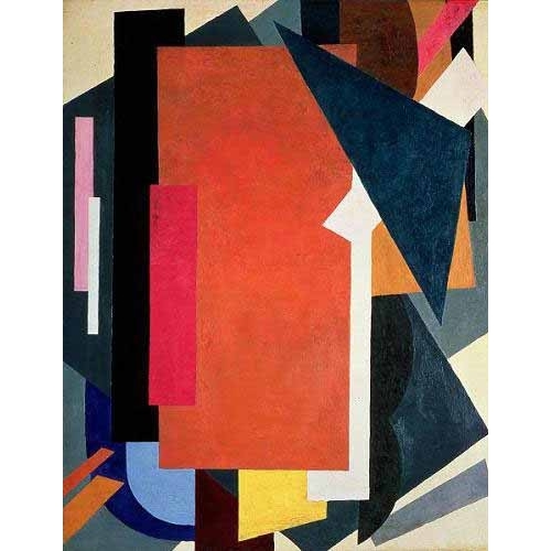 Comprar abstracts paintings - Painterly architectonics online - Popova, Lyubov Sergevna