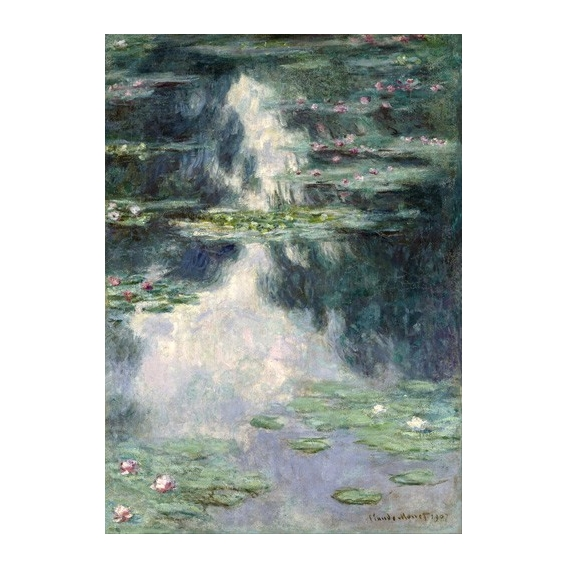 """Pond with Water Lilies, 1907"""