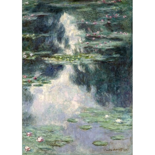 Cuadro Pond with Water Lilies, 1907
