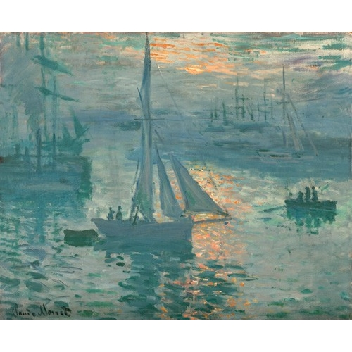 Comprar seascapes - Sunrise (Marina) online - Monet, Claude