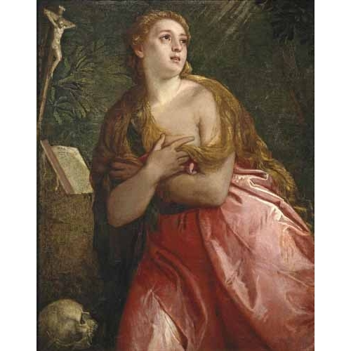 Comprar religious paintings - Maria Magdalena penitente online - Veronese, Paolo