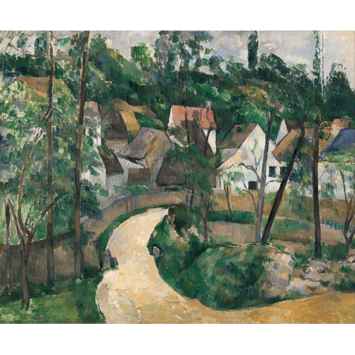 Comprar  - Cuadro Turn in the Road, 1881 online - Cezanne, Paul