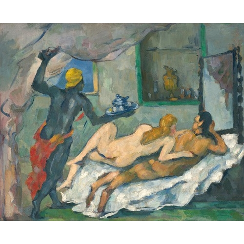 Comprar  - Cuadro Afternoon in Naples online - Cezanne, Paul