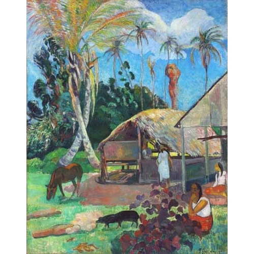 Comprar landscapes - The Black Pigs online - Gauguin, Paul