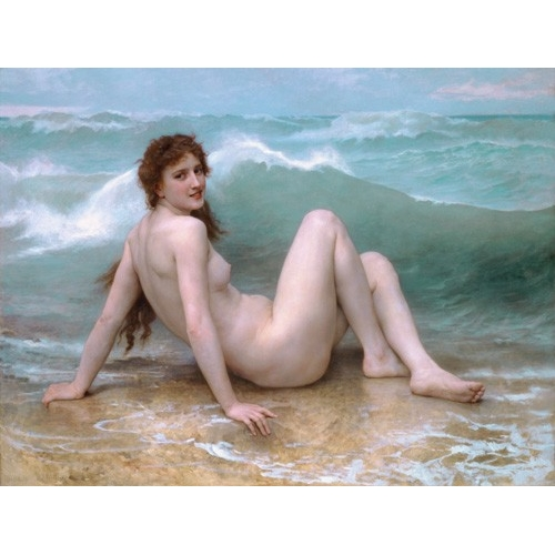 Comprar  - Cuadro The Wave, 1896 online - Bouguereau, William