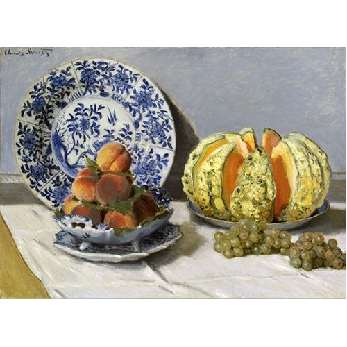 Comprar  - Nature morte au melon online - Monet, Claude