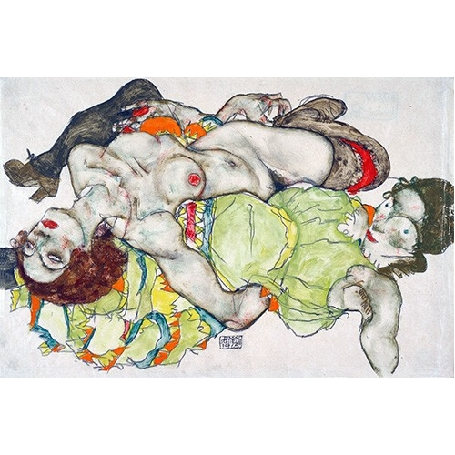Comprar nude paintings - Female Lovers, 1915 online - Schiele, Egon