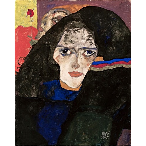 Mourning Woman, 1912