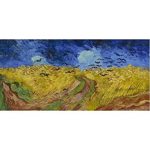 Cuadro Wheatfield with Crows, 1890