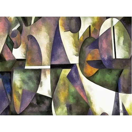 Comprar abstracts paintings - Moderno CM6676 online - Medeiros, Celito
