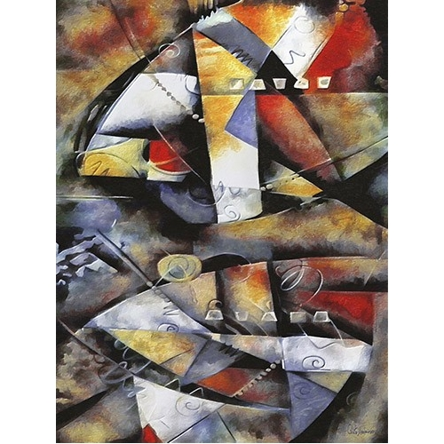 Comprar abstracts paintings - Moderno CM6706 online - Medeiros, Celito