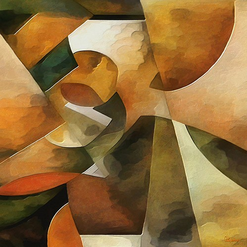 abstracts paintings - Moderno CM8888 - Medeiros, Celito