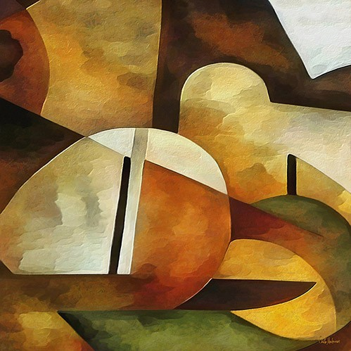 abstracts paintings - Moderno CM8889 - Medeiros, Celito