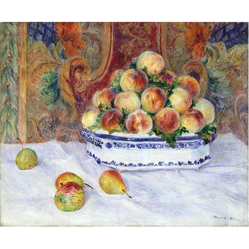 Cuadro Still Life with Peaches, 1881