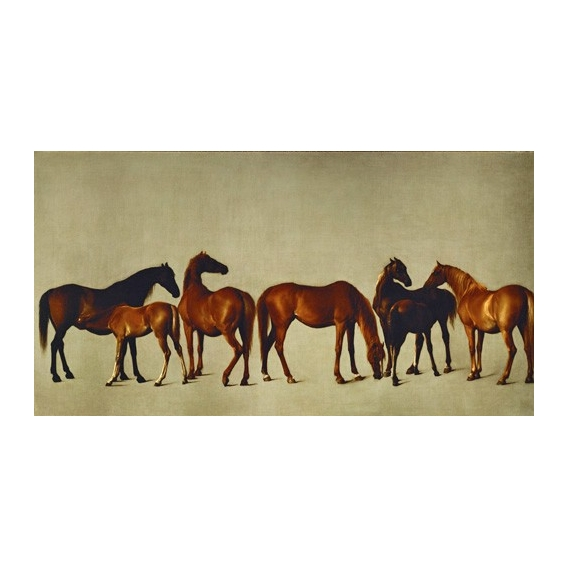 Mares and Foals (caballos)