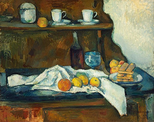 Still life paintings - El aparador - Cezanne, Paul