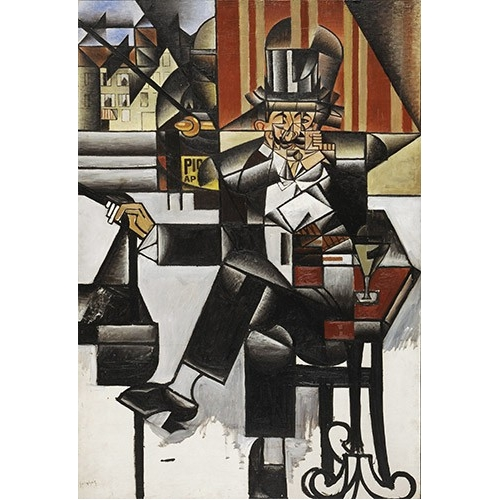 Man in a cafe