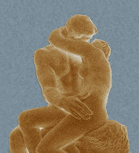 contemporary paintings - The Kiss (El beso) - Rodin, Auguste