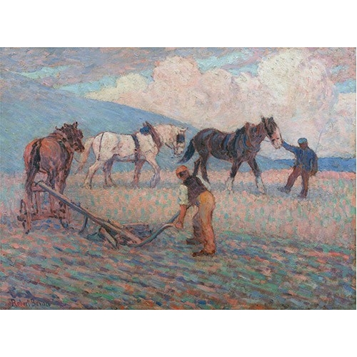 Comprar  - Cuadro The Turn Rice-Plough, Sussex online - Bevan, Robert