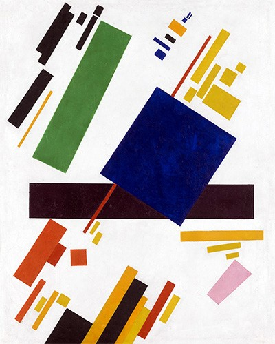 abstracts paintings - Suprematist Composition - Malevich, Kazimir S.