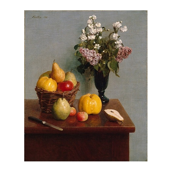 """Still Life with Flowers and Fruit"""