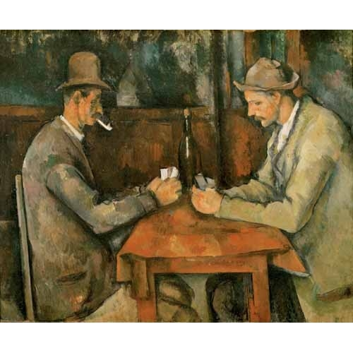 Comprar portrait and figure - Los jugadores de cartas, 1890 online - Cezanne, Paul
