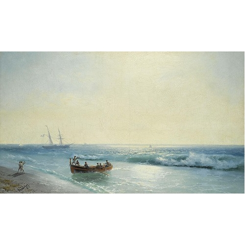 """Sailors coming ashore"""