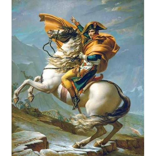 Comprar portrait and figure - Bonaparte cruzando los Alpes, 1801 online - David, Jacques Louis