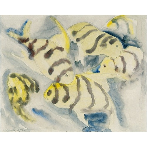 Comprar contemporary paintings - Fish Series, No-3 online - Demuth, Charles